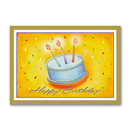 Birthday Cake Postcard